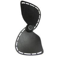 Caframo Replacement Blade f\/Chinook w\/Rocker Switch - Black