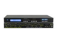 4x4 4:4 HDMI HDBaseT Matrix Switcher CAT5e/6/7 Extender with EDID SB-5645LCM-CT