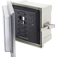 Blue Sea 3118 SMS Surface Mount System Panel Enclosure - 120V AC \/ 50A ELCI Main - 2 Blank Circuit Positions