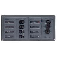BEP AC Circuit Breaker Panel w\/o Meters, 4 Way Panel 2 Mains - 110V