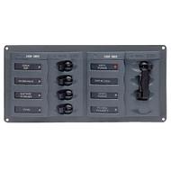 BEP AC Circuit Breaker Panel w\/o Meters, 4 Way Panel 2 Mains - 240V