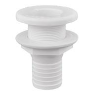 "Attwood Plastic Thru-Hull Fitting - 1-1\/2"" - White"