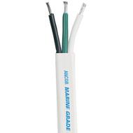 Ancor White Triplex Cable - 14\/3 AWG - 500