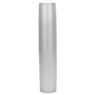 "TACO Aluminum Ribbed Table Pedestal - 2-3\/8"" O.D. - 26"" Length"