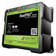 Dual Pro RealPRO Series Battery Charger - 12A - 2-6A-Banks - 12V\/24V