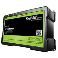 Dual Pro RealPRO Series Battery Charger - 18A - 3-6A-Banks - 12V-36V