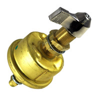 Cole Hersee Single Pole Brass Marine Battery Switch - 175 Amp - Continuous 800 Amp Intermittent