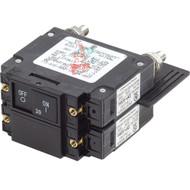 Blue Sea 7465 UL-489 Circuit Breaker - 30A Flat Rocker
