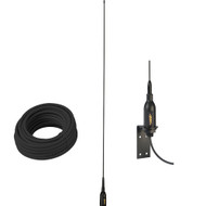 """Glomex AIS Antenna w\/Supplied """"L"""" Bracket  66 Coax Cable"""