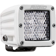 Rigid Industries D-Series PRO Flood Diffused - Single - White