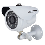 Speco HD-TV1 2MP Color Waterproof Marine Bullet Camera w\/IR, 10 Cable, 3.6mm Lens, White Housing