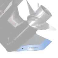 Megaware SkegPro - Stainless Steel - Evinrude 225 hp HO 2004  Yamaha VMAX  EFI 200, 225, 250, 300 hp  HPDI 2004  VMAX 200 HPDI 2005