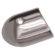 TACO Polished Stainless Steel 2-19\/64 Rub Rail End Cap
