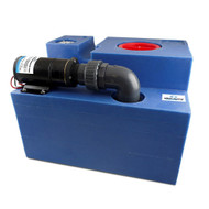 Albin Pump 20 Gallon (72L) Waste Water Tank CPL Macerator - 12V
