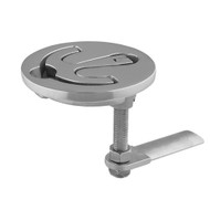 """TACO Latch-tite Lifting Handle - 2.5"""" Round - Stainless Steel"""