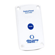 Albin Pump Marine Control Panel Standard Electric Toilet