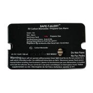 Safe-T-Alert 45-Series Combo Carbon Monoxide Propane Alarm Surface Mount - Black