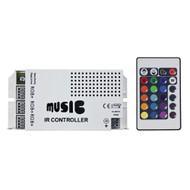 HEISE Sound Activated RGB Controller w\/IR Remote
