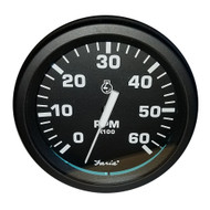"Faria 4"" Heavy-Duty Tachometer (6000 RPM) Gas - Black *Bulk Case of 12*"