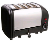 Dualit 4-Slice Toaster 40344 in Black