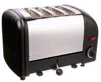Dualit 4-Slice Toaster 40344 in Black