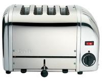 Dualit 4 Slot NewGen Toaster 47180 Polished Stainless Steel