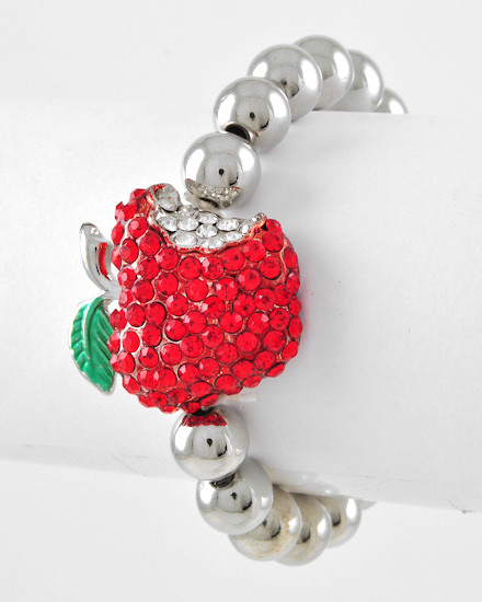 Delicious Strawberry with Diamante feature