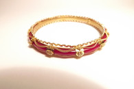 Ornate Golden Detailed Bracelet