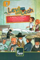 Levi & Leah Tour Through Leningrad | Chassidic Comics