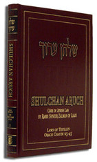 Shulchan Aruch with English Translation | 2, Orach Chaim 25-45