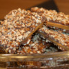 Decadent Raffles Toffee with chocolate and pecans