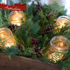 Idea of how to use Box of Greens - add mason jars, candles, and berries.