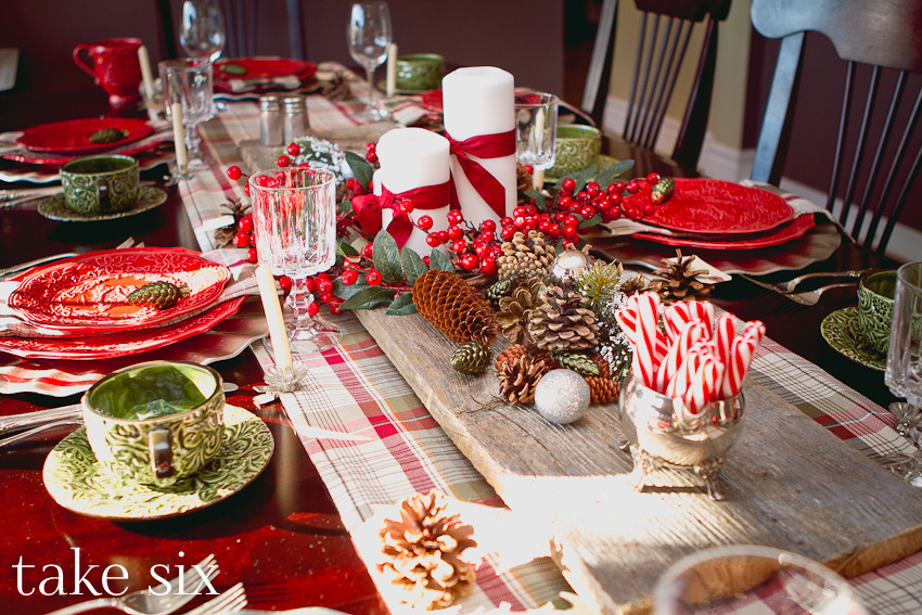 Rustic Christmas Table Centerpieces Harbor Farm Wreaths