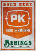 Pk sold here berings pk grills founded in 1940 berings in houston texas had already been in business for over a decade when the first cast aluminum portable kitchen grill was born and junglespirit Images