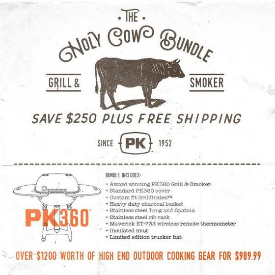 The HOLY COW! PK360 Gift Bundle - Graphite PK360