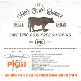 The HOLY COW! Gift Bundle w/ Graphite PK360