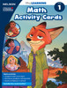 Disney Learning Series - Math Activity Cards - Grade 1 - Front Cover