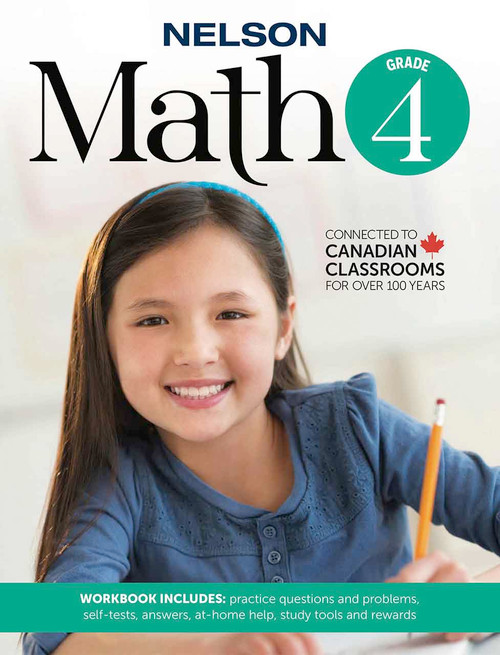Nelson Math 4 - Workbook Front Cover