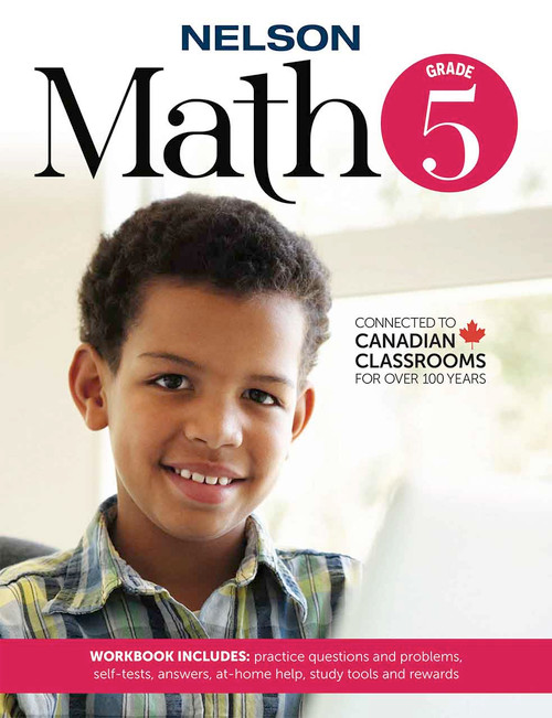 Nelson Math 5 - Workbook Front Cover