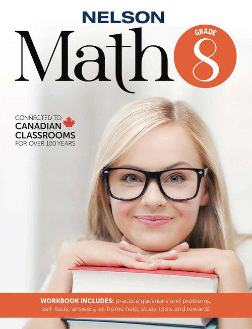 Nelson Math 8 - Workbook Front Cover
