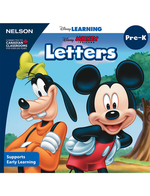 The Disney Learning Series - Letters - PreK - Front Cover