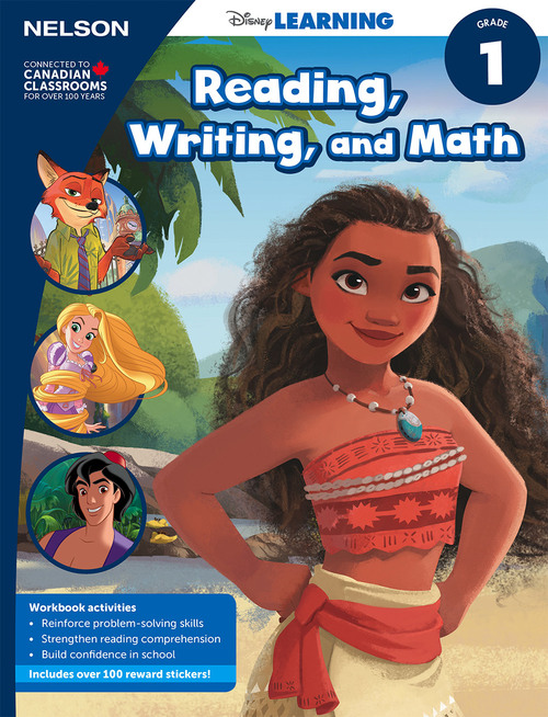 Disney Learning Series - Reading, Writing, and Math - Grade 1 - Front Cover