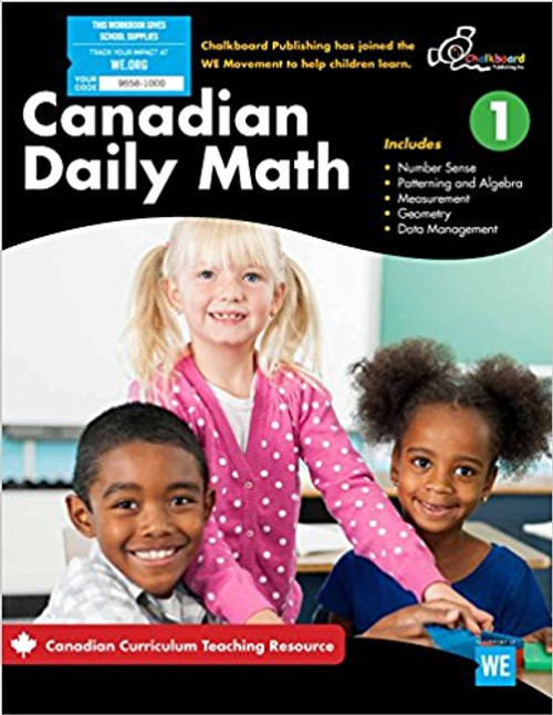 Canadian Daily Math 1 Front Cover
