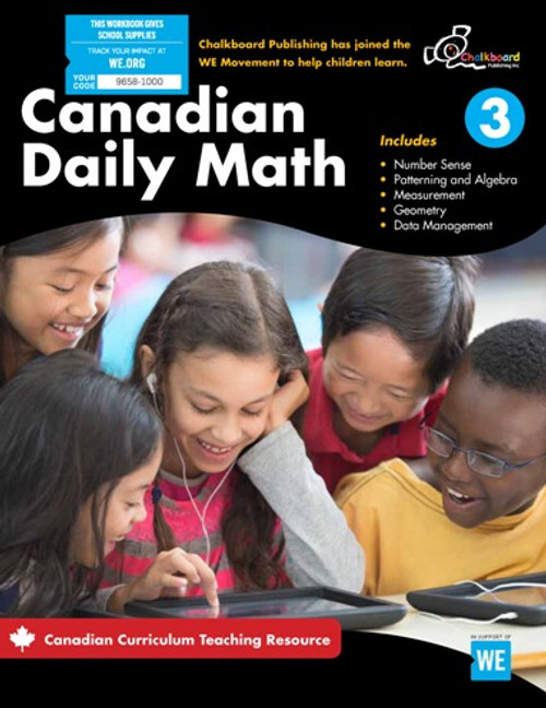 Canadian Daily Math 3 Front Cover