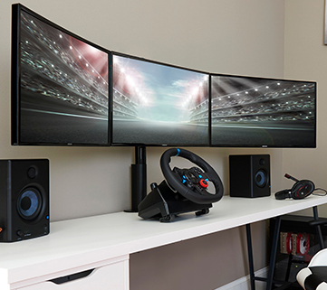 perfect for gaming setups