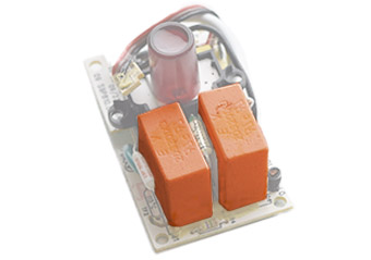 we build our surge protectors with fireproof ceramic casing