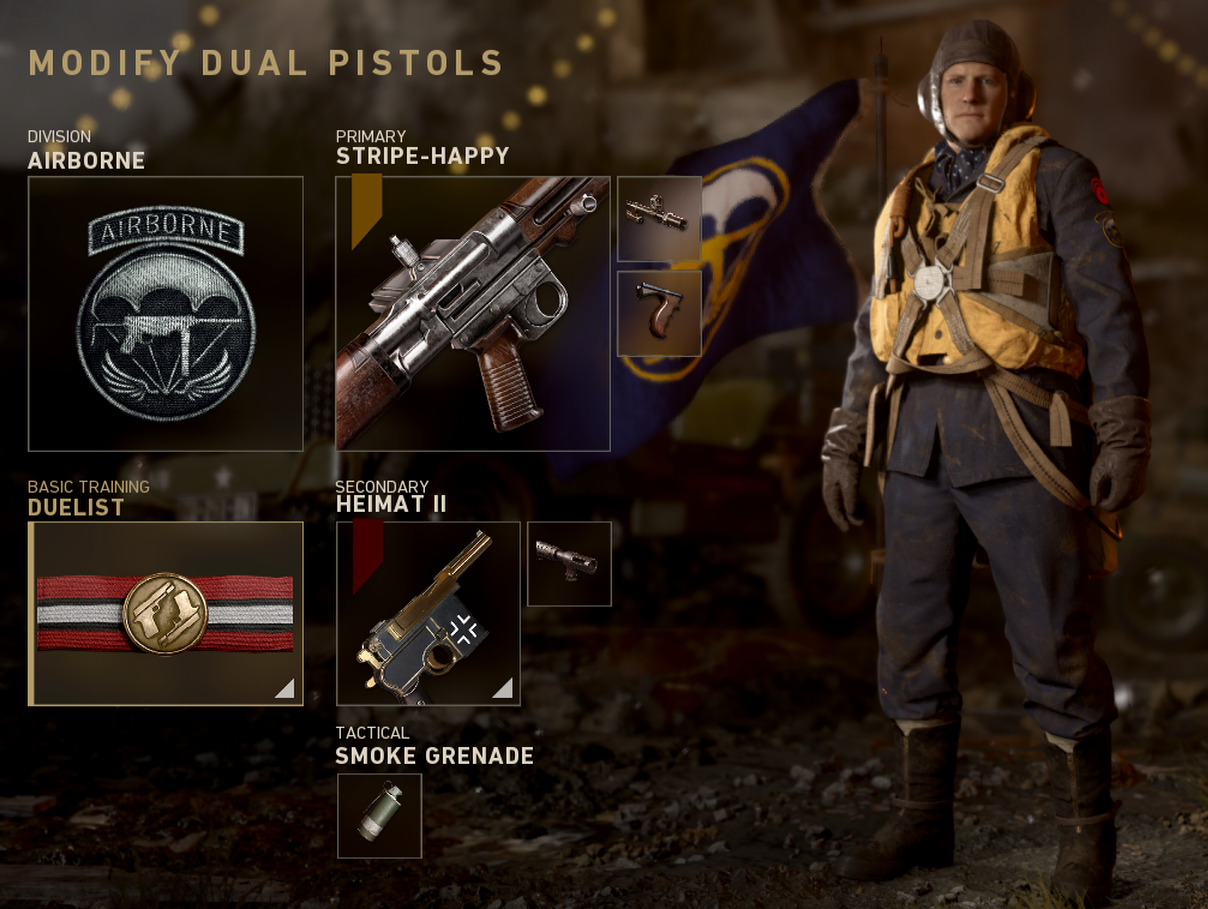 cod ww2 double wield