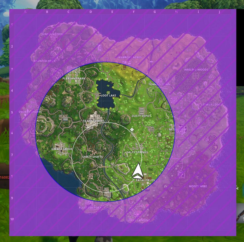 eye of the fortnite storm