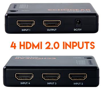 HDMI 2.0b input splitter