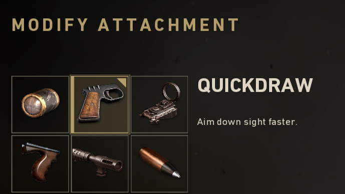 Call of duty Quickdraw attachemnt